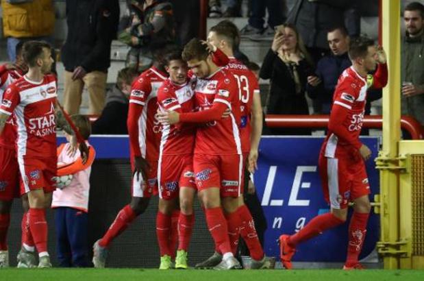 Jupiler Pro League - Excel Moeskroen legt Antwerp over de knie