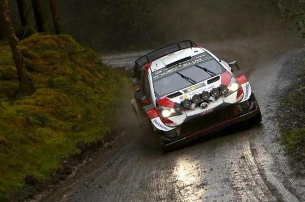 Rally van Wales - Tänak aan de leiding, Neuville zakt naar vierde plaats