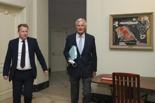 Europese en Britse hoofdonderhandelaars praten opnieuw