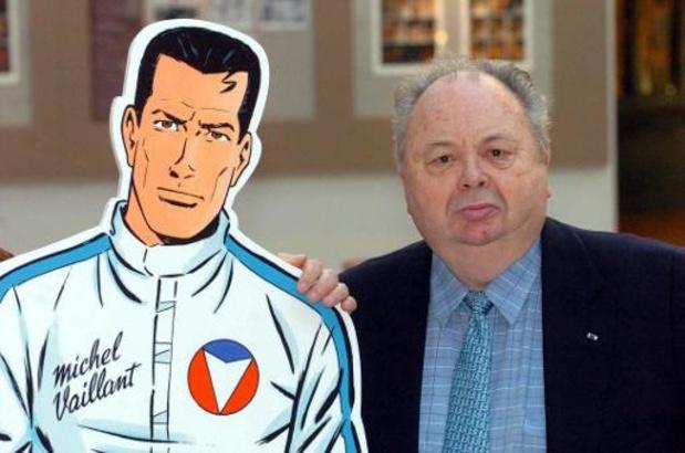 Striptekenaar Jean Graton, bedenker van 'Michel Vaillant', overleden