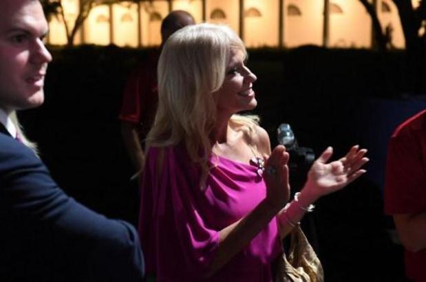 Trump besmet met corona - Ook ex-adviseur Kellyanne Conway testte positief