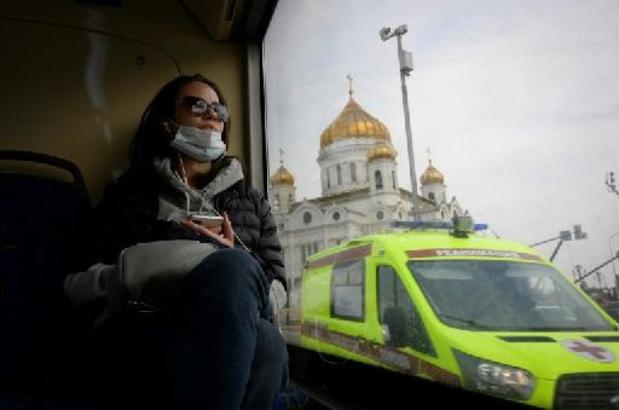 Covid: la capitale russe s'inquiète d'une dégradation de la situation