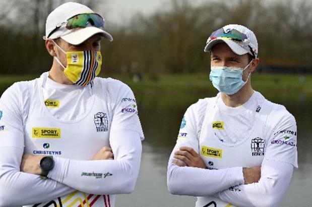 Le duo Van Zandweghe/Brys en demi-finales, le skiffeur Vandenbussche en quarts à Lucerne