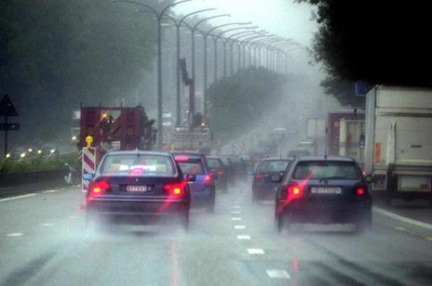 Al bijna 250 km file op Vlaamse wegen
