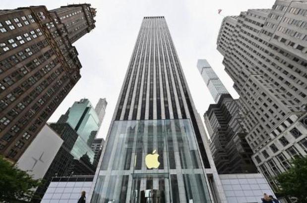 Beurswaarde Apple met 450 miljard dollar gedaald sinds record