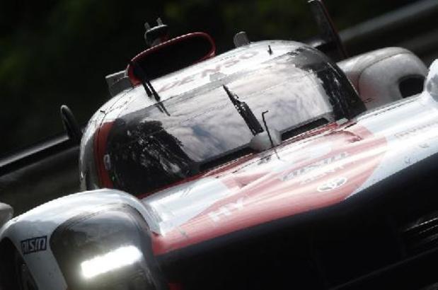Première victoire de la Toyota N.7, 4e consécutive du constructeur