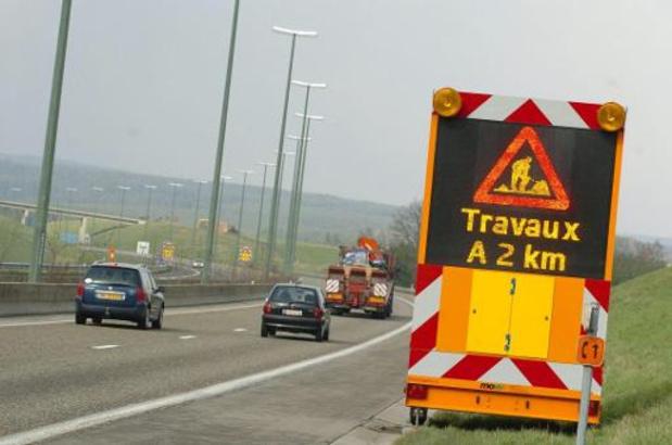 Aantal ongevallen bij wegenwerken stijgt fors