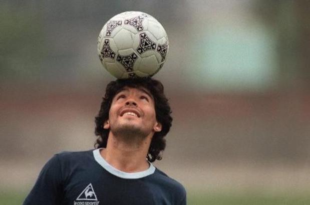 """""""Diego éternel"""": L'Argentine et ses anciens clubs saluent """"une légende"""""""