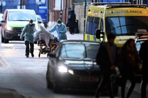 Recordaantal doden op één dag tijd in Verenigd Koninkrijk