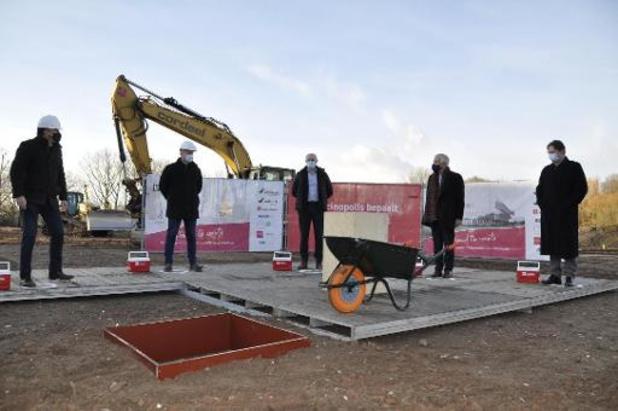 UAntwerpen start bouw Vaccinopolis in Edegem