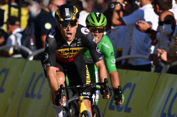 Tour de France - Wout van Aert s'impose sur les Champs-Elysées, Tadej Pogacar vainqueur final