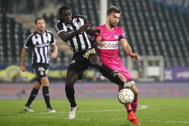 Christophe Diandy a repris l'entraînement après 514 jours avec Charleroi