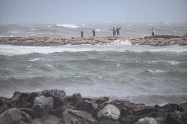 La tempête Henri a touché terre dans le nord-est américain