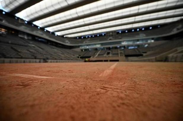 Slechts 11.500 toeschouwers per dag toegelaten op Roland Garros