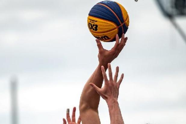 La Belgique à deux victoires d'une qualification olympique de basketball 3x3