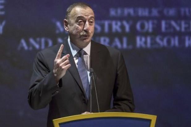 Conflit au Nagorny Karabakh - Le président azerbaïdjanais réclame le retrait arménien, des excuses