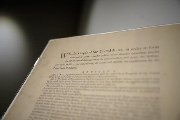 La Constitution des États-Unis aux enchères pour 15 à 20 millions de dollars