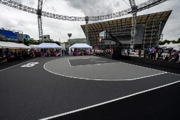 Qualification pour la Coupe d'Europe de basket 3x3 aussi chez les dames pour la Belgique