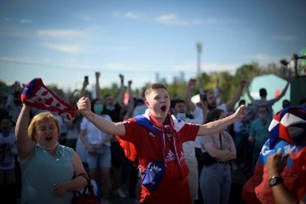 Moscou ferme sa fan-zone à cause d'une résurgence du Covid