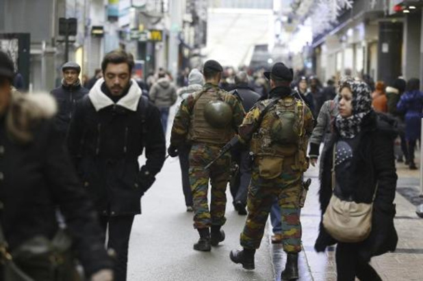 Nog tot begin oktober militairen op Belgische straten
