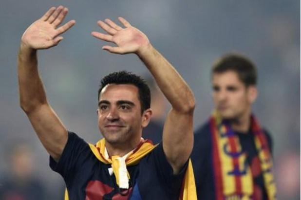 """Xavi, """"ouvert à tout"""", ne ferme pas la porte à un retour au Barça"""