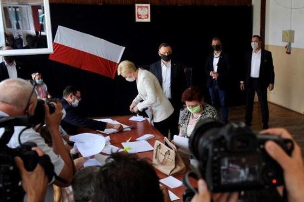 La crise du coronavirus n'a pas rebuté les électeurs polonais de se rendre aux urnes
