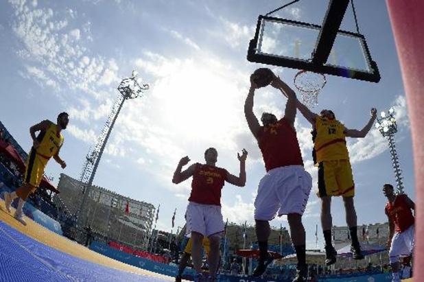 Olympisch kwalificatietoernooi basket 3x3 - 3x3 Belgian Lions sneuvelen nipt in poule en grijpen voorlopig naast ticket voor Tokio