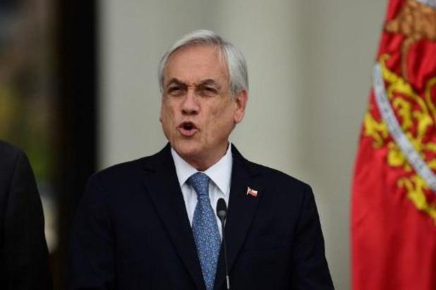 Le président chilien Piñera annonce une prime exceptionnelle à un million de familles