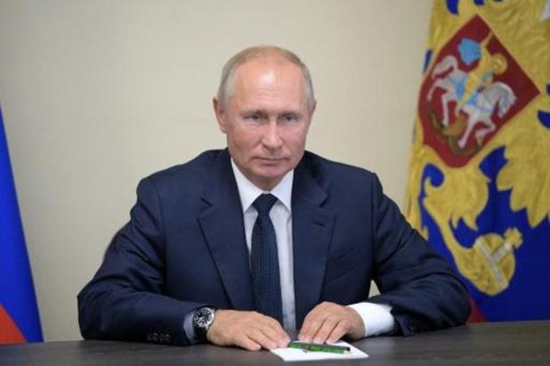 Poutine salue les résultats de la Russie face au coronavirus
