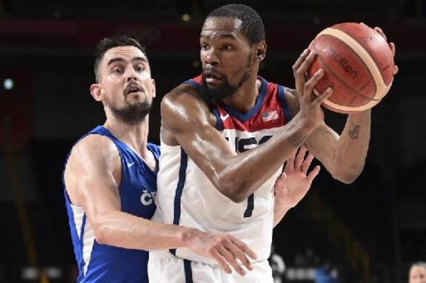 JO 2020: un duel États-Unis-Espagne comme affiche des quarts de finale en basket