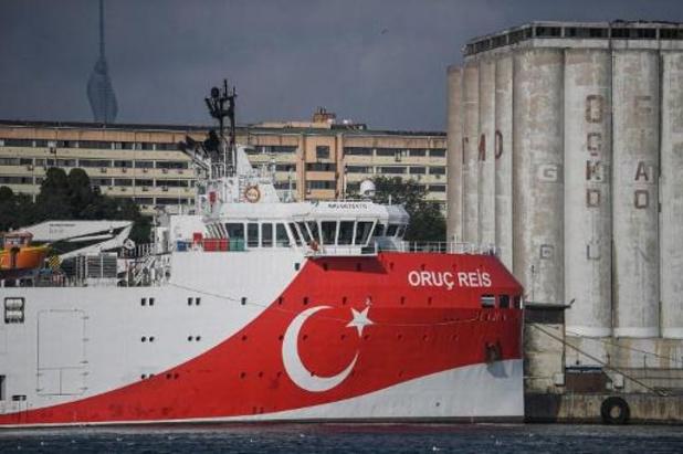 Turkije verlengt opnieuw gasexploratiemissie in Middellandse Zee