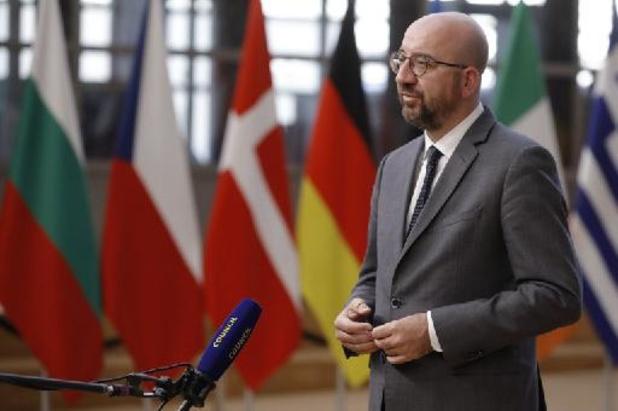 """""""Sancties liggen op tafel van EU-top"""""""