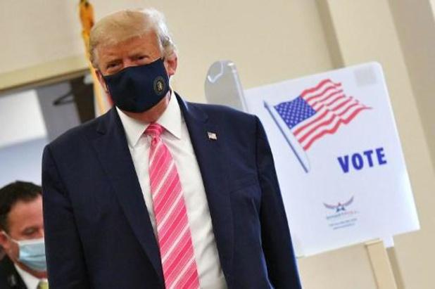 Présidentielle américaine 2020 - Trump vote en Floride et affiche son optimisme