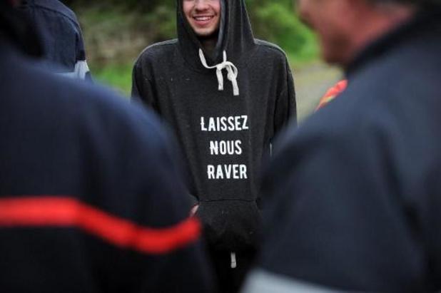 Ongeveer tweeduizend mensen op raveparty in Bretagne