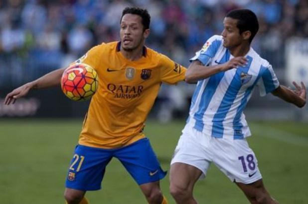 Jupiler Pro League - Eupen strikt voormalig Barcelona-verdediger Adriano