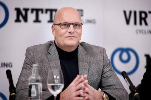 Bjarne Riis stopt als manager van NTT Pro Cycling