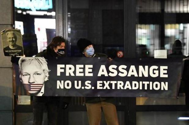Les États-Unis en appel contre le refus d'extrader Julian Assange