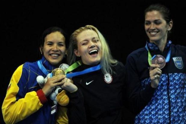 OS 2020 - Argentijnse schermster gaat in op huwelijksaanzoek partner/trainer na uitschakeling