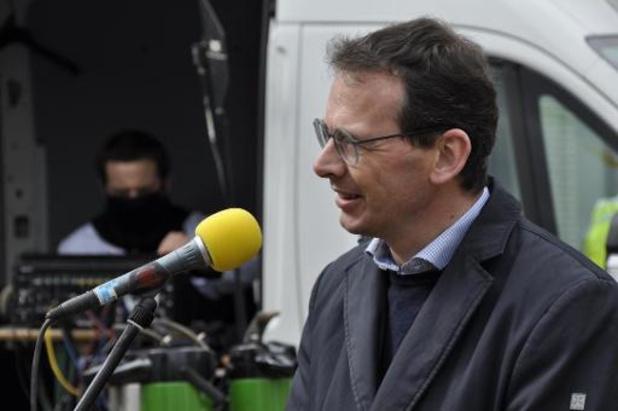 Minister Wouter Beke bezoekt woonzorgcentrum in Borgerhout op Dag van de Zorg