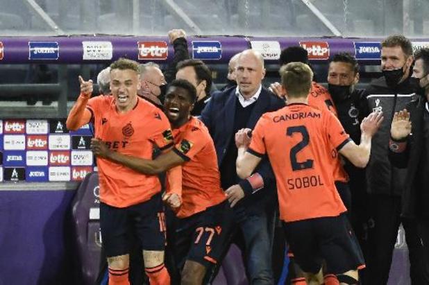 Choc entre Anderlecht et le Club de Bruges au programme de la 10e journée