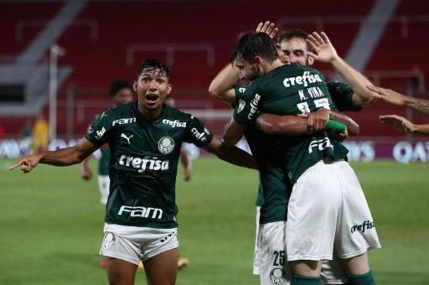 Copa Libertadores : Palmeiras domine River Plate en demi-finale aller, la finale se jouera à huis clos