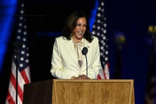 """Présidentielle américaine 2020 - Kamala Harris salue """"un jour nouveau pour l'Amérique"""""""