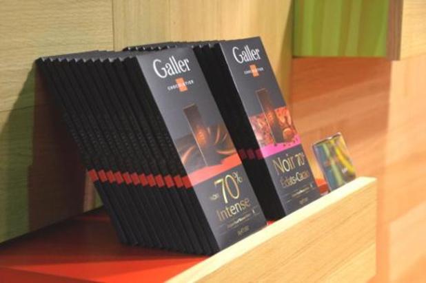 Le chocolat Galler retrouve son ancrage belge