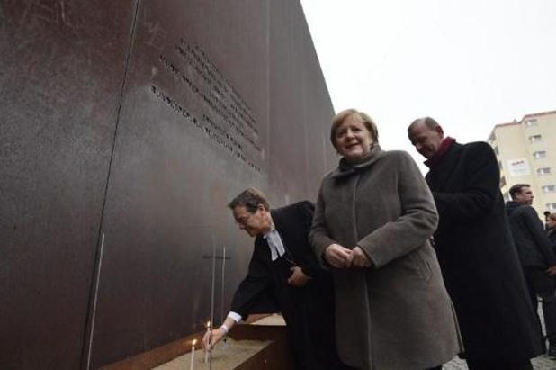 30e anniversaire de la chute du Mur de Berlin : Angela Merkel appelle l'Europe à défendre la démocratie