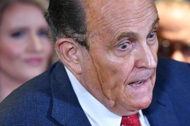 Stemcomputerleverancier Dominion sleept Giuliani voor de rechter