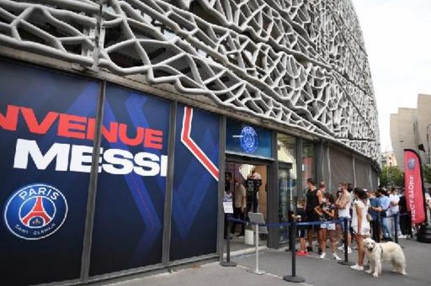 Le PSG veut profiter de la venue de Messi pour agrandir son stade