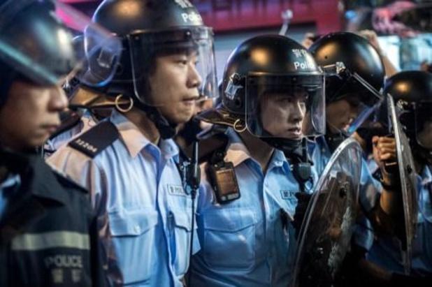 Politie kondigt eerste arrestatie aan onder nieuwe veiligheidswet