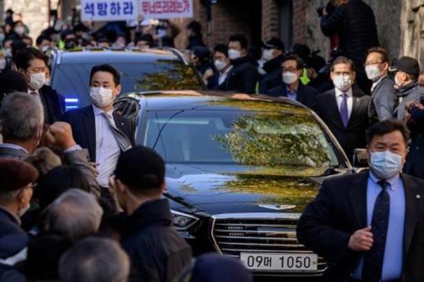 L'ex-président sud-coréen Lee Myung-bak de retour en prison