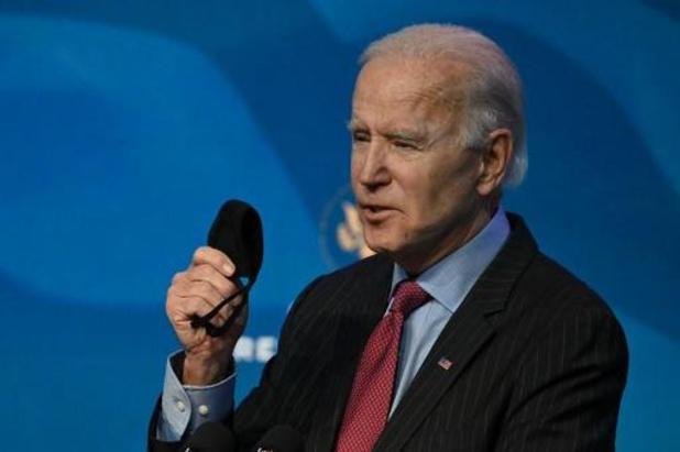 """Transition à la Maison Blanche - Biden estime qu'il revient au Congrès de """"décider"""" à propos de la destitution de Trump"""