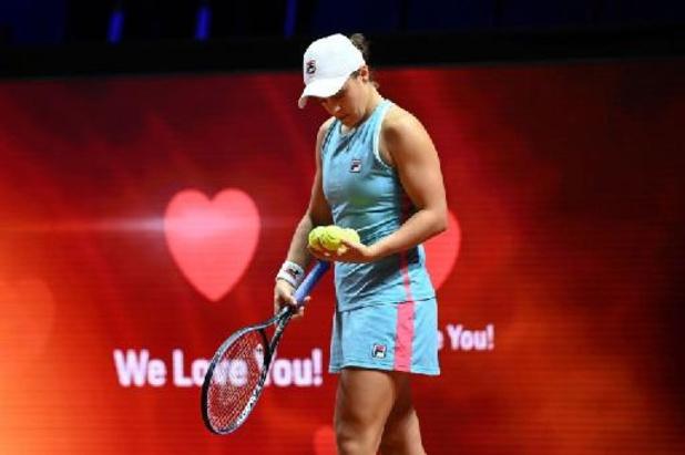 WTA Stuttgart - Ashleigh Barty bat Aryna Sabalenka en finale et enlève son 11e titre